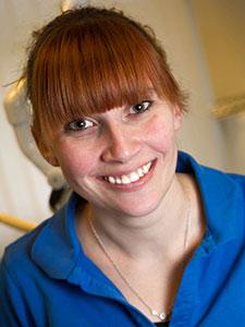 Klinikassistent Sandra Hornshøj Vestergård